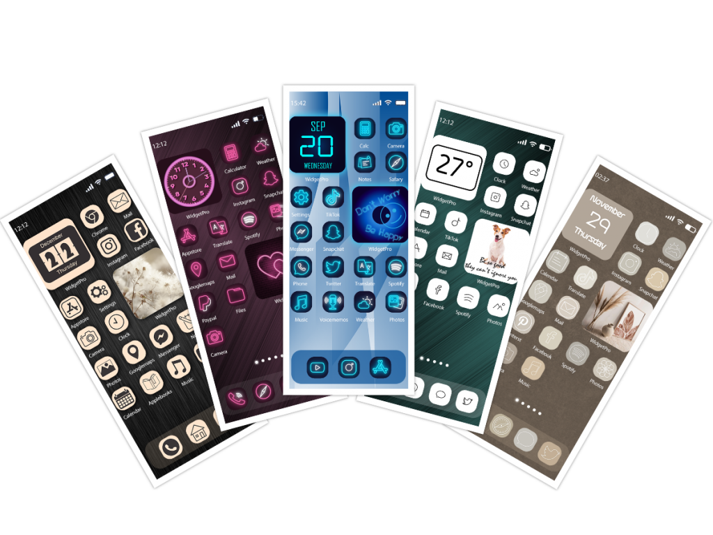 Cool themes for iPhone